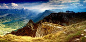 Dolomites landscape — Stock Photo