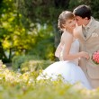 Young couple wedding — Stock Photo #8774257