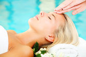 Young Woman In Spa — Stock Photo
