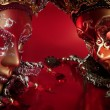 Stock Photo: Ornate carnival masks