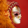 Stock Photo: Ornate carnival mask