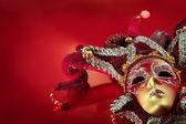 Máscara de carnaval recargado — Foto de Stock