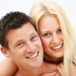 Happy young couple — Stock Photo #8748644
