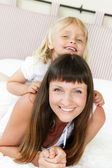 Mother and daughter. — Stock Photo