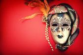 Süslü karnaval maskesi — Stok fotoğraf
