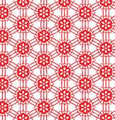 Abstrakt linjer röd bakgrund — Stockvektor