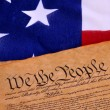 US Constitution - Stock Photo