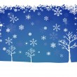 Stock Vector: Winter Snow