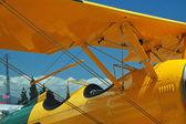 Light aircraft cockpit — Stock Photo