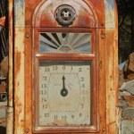 Vintage gas pump — Stock Photo