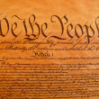 Stock Photo: United States Constitution
