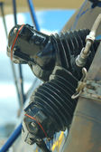 Airplane engine — ストック写真
