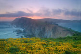 Sunset point reyes — Foto de Stock