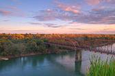 風光明媚な川の風景 — ストック写真
