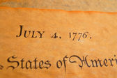 United States Declaration of Independence — Stock Photo