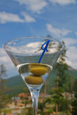 Martini against the sky — Stock Photo