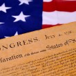 Declaration of Independence — Stock Photo #8891942