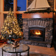 Christmas livingroom — Stock Photo #8907121