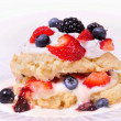 Stock Photo: Berry shortcake