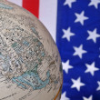 America and the world — Stock Photo