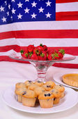 All american snacks — Stock Photo