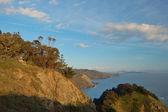 Vistas costeira-tarde — Fotografia Stock