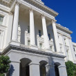 Side of California State Capitol building — Stock Photo