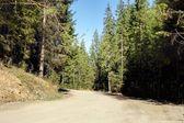 Drogi w górach — Zdjęcie stockowe