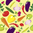 Fruit Seamless Pattern — Stockvectorbeeld