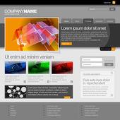 Development Company Website — Stock Vector