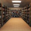 Bookshelf in library — Stock Photo #10105651