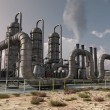 Chemical plant — Stockfoto #8724347