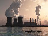Power plant — Stock Photo