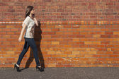 Woman's walk — Stock Photo