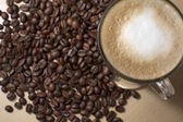 Coffe and beans 2 — Stock Photo