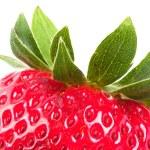 Strawberry cutting V2 — Stock Photo