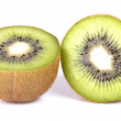 Two halves Kiwi V1 — Stock Photo