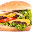 Cheeseburger — Foto Stock