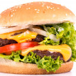 Cheeseburger — Stock Photo #8812242