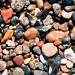Many pebble stones — Foto Stock