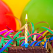 Small birthday cake — Stock Photo