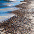 Beach of pebble stones — Stock Photo