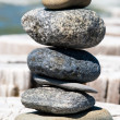 A tower of stones — Stock Photo