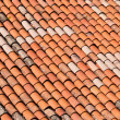 Brick roof — Stock Photo