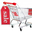 Shopping Cart Sale V3 — Stock Photo