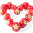 Strawberry Heart V1 — Stock Photo #8814180