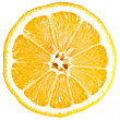 Stock Photo: Lemon cross section