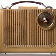 Antique radio - Stock Photo