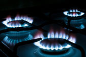 Gas stove V1 — Stock Photo