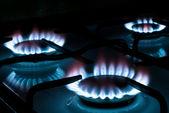 Gas stove V1 — Stock Photo